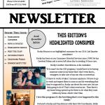 Image of last quarter 2016 newsletter.