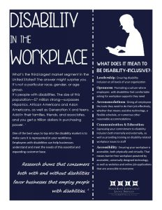 Disability Work Incentives